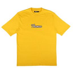 Thames Logo T-Shirt Spectre Yellow