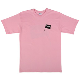 The Duct Years Black Flag T-Shirt Pink