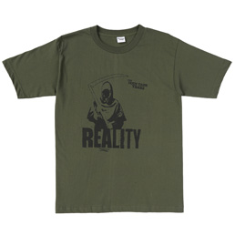 TDTY Grim Reality T-Shirt Army Green
