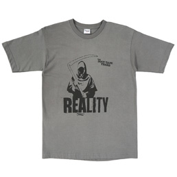 TDTY Grim Reality T-Shirt Charcoal