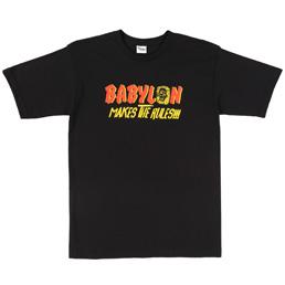 TDTY Babylon Makes The Rules T-Shirt Black