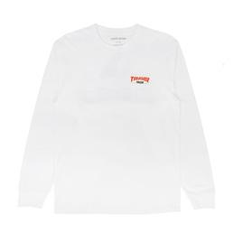 Thrasher x FA Trash Me L/S T-Shirt White