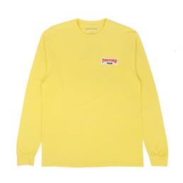 Thrasher x FA Trash Me L/S T-Shirt Yellow