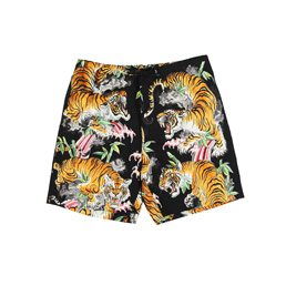 Wacko Maria Tim Lehi Swimming Shorts Black