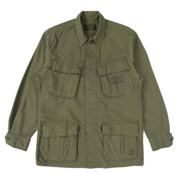 Wacko Maria Tim Lehi / Fatigue Jacket Khaki