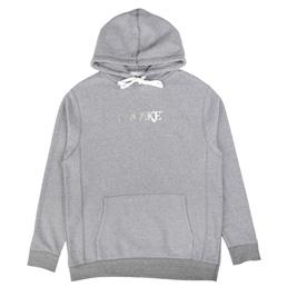 Awake NY Metallic Foil Logo Hoodie Grey
