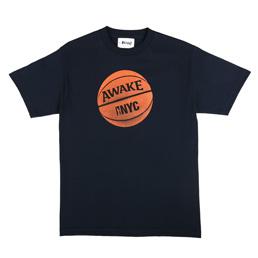 Awake NY Hoop T-Shirt Navy