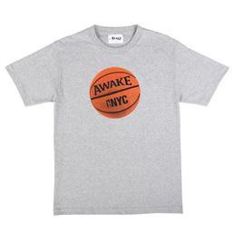 Awake NY Hoop T-Shirt Grey