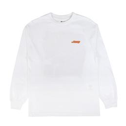 Awake NY L/S Wave Logo T-Shirt White