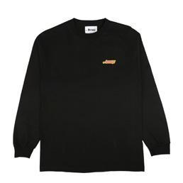 Awake NY L/S Wave Logo T-Shirt Black