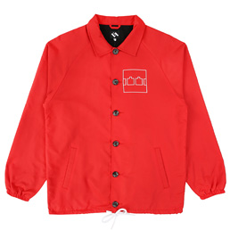 Trilogy Tapes Coach Jacket - Red