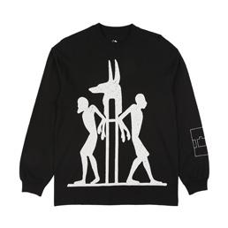 Trilogy Tapes Anubis L/S T-Shirt Black