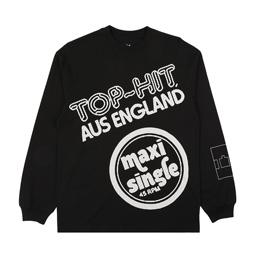 Trilogy Tapes Top Hit L/S T-Shirt Black