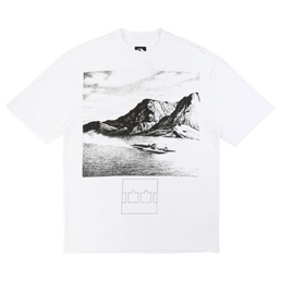 Trilogy Tapes Boat T-Shirt White