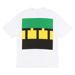 Trilogy Tapes TTT Block T-Shirt White