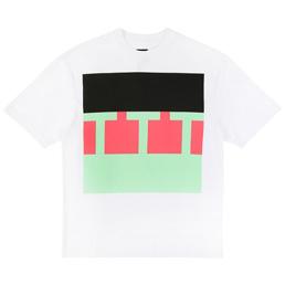 Trilogy Tapes TTT Block T-Shirt - White