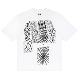 Trilogy Tapes Patterns Connet T-Shirt - White