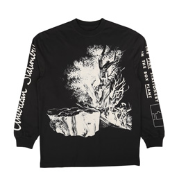 Trilogy Tapes American Stationary L/S T-Shirt Blac