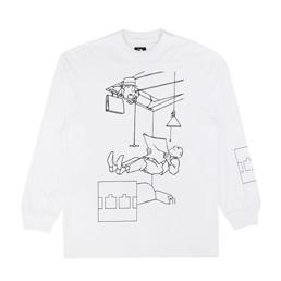 Trilogy Tapes Levitate L/S T-Shirt White