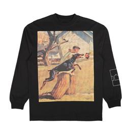 Trilogy Tapes Doberman Pinscher L/S T-Shirt Black