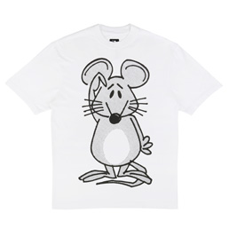 Trilogy Tapes Mouse T-Shirt White