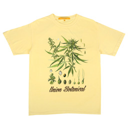 Union Botanical Weed T-Shirt Butter