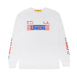 Union LA 1991 LS T-Shirt White
