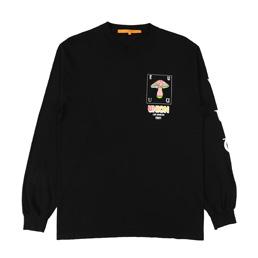Union Shrums L/S T-Shirt Black
