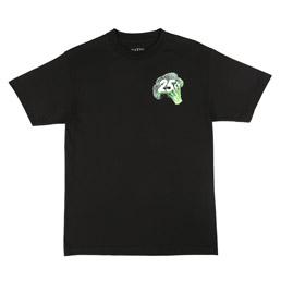 QS Veggie Snackman T-Shirt Black