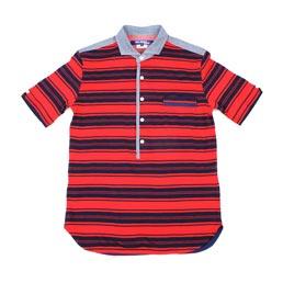 Junya Polo Chambray Shirt Red