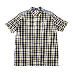 Junya Eye S/S Check Shirt Yellow