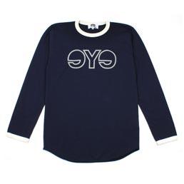Junya Eye Football L/S Tee Navy